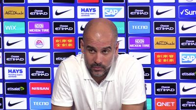 Guardiola hits back at Solskjaer over kicking claims