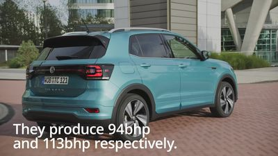 A look at the new Volkswagen T-Cross