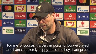 Jurgen Klopp: It was our best away game in Europe for two seasons