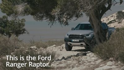 A look at the new Ford Ranger Raptor