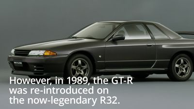 50 years of the Nissan GT-R