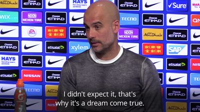 Guardiola: It's a 'dream come true' for City to be in charge of their title destiny