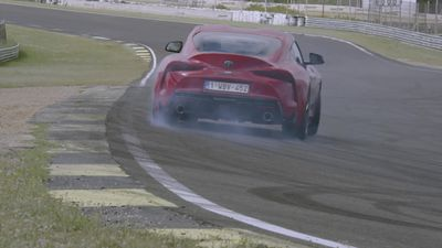 This is the new Toyota GR Supra