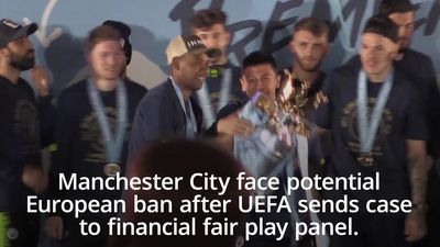 Manchester City face potential European ban