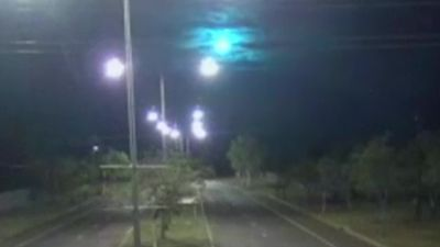 Suspected meteorite caught on CCTV in Australia