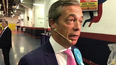 Nigel Farage: Normal political campaigning is becoming impossible