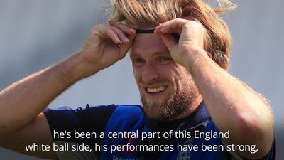 England World Cup squad: David Willey 'extremely unfortunate' to miss out