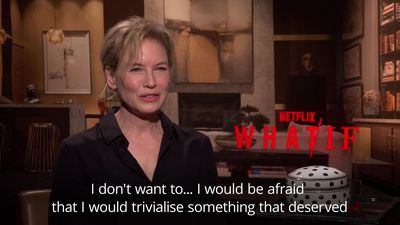 Renee Zellweger doesn't want to 'trivialise' things by tweeting about them