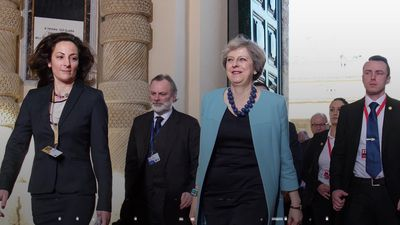 Theresa May to stand down as Conservative leader