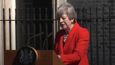 Theresa May's resignation speech in full