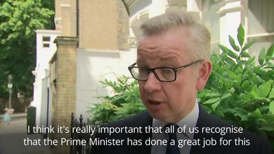 Michael Gove: Theresa May has done a great job for this country