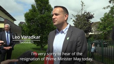 Leo Varadkar pays tribute to Theresa May