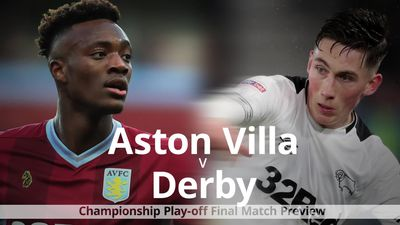 Aston Villa v Derby: Championship play-off final match preview