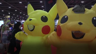 Thousands of cosplay fans attend Comic Con London 2019