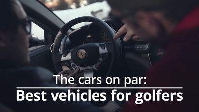 The five best cars for golfers
