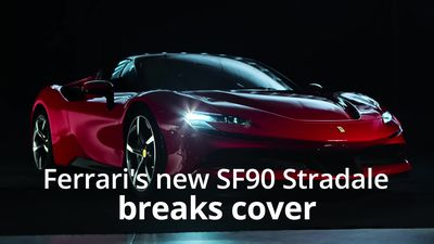 This is the new Ferrari SF90 Stradale