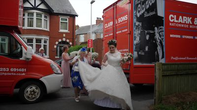 HGV gets bride to the church on time
