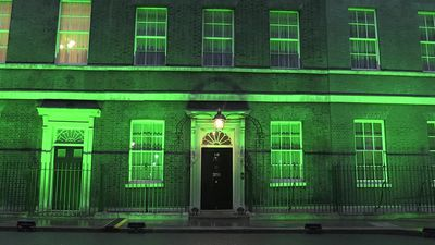 Number 10 turns green two years on from Grenfell fire