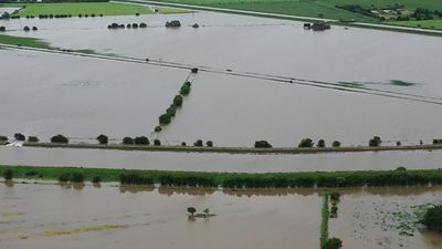 Heavy rainfall sees homes flooded in Lincolnshire