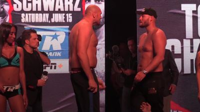 Fury v Schwarz: Weigh-in