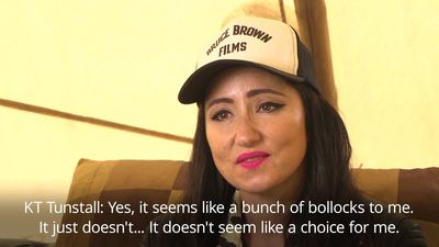 KT Tunstall brands Tory leadership race 'a bunch of bollocks'