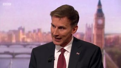Brexit: Jeremy Hunt says he would try to negotiate a new deal