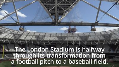 MLB: London Stadium prepares for Yankees v Red Sox showdown