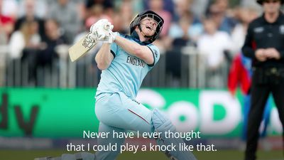 England thrash Afghanistan: Eoin Morgan doubted ability to produce brutal knock