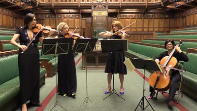 Brexit debate swapped for chamber music in the House of Commons