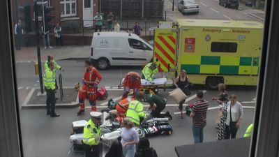 Woman injured in accident involving the Duke and Duchess of Cambridge's convoy