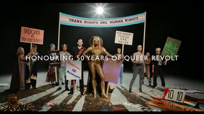 Pride in London marks 50 years since Stonewall Uprising