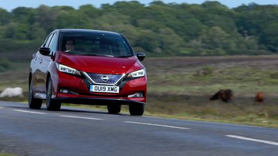 This is the new Nissan Leaf e+