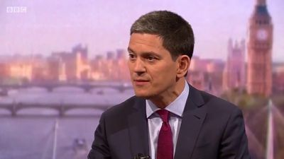 David Miliband on Iran: We're relying on Trump to keep 'the hawks at bay'