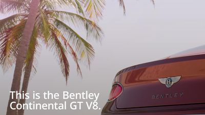 A look at the new Bentley Continental GT V8