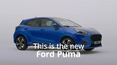 New Ford Puma crossover revealed with clever boot design and hybrid engines