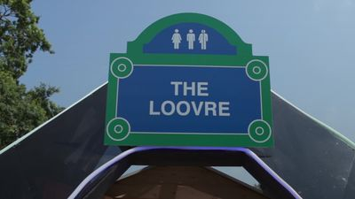 Loo with a view opens at Glastonbury