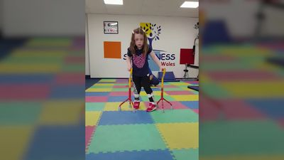 Parents hope to make daughter's dream of walking independently come true