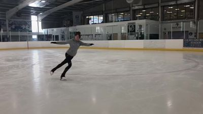 Woman becomes figure skater after brain bug wipes her memory
