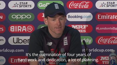 World Cup final: Eoin Morgan determined to seize 'huge opportunity' for England