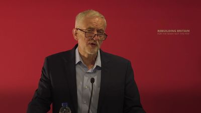 Jeremy Corbyn: Hunt and Johnson are perusing post no-Deal Brexit trade deal with Trump