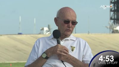 Apollo 11 astronaut reflects on moon mission