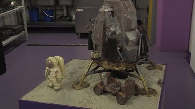 Cadbury World commemorates moon landing anniversary