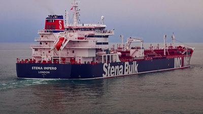Iranian authorities 'seize British oil tanker in Persian Gulf'