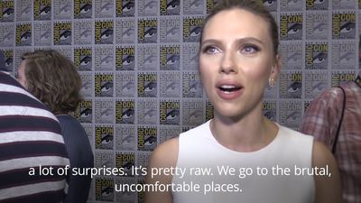 Scarlett Johansson promises 'lots of surprises' from Black Widow