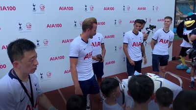 Football fans in China sing 'happy birthday' to Harry Kane