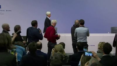 Day of firsts as ECB's Lagarde pledges new style