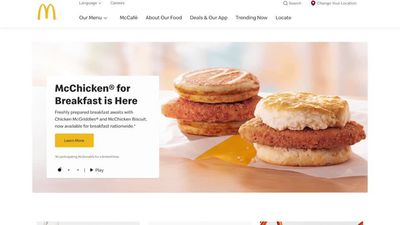 McDonald's heats up breakfast war with chicken