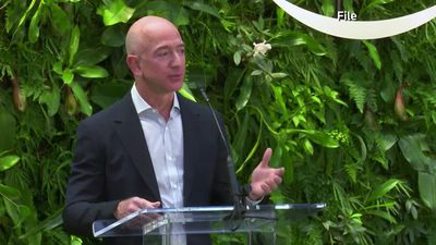 Amazon's Bezos announces new climate fund