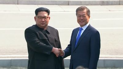 'A new history starts now' as Korean leaders begin summit