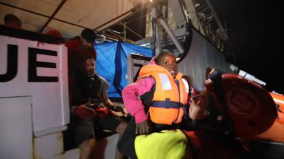 Children among 73 migrants rescued near Libya
